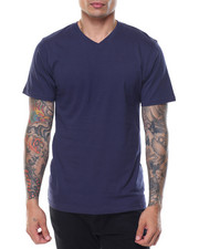 Men - Cotton V - Neck S/S Tee