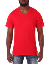 Shirts - Cotton V - Neck S/S Tee