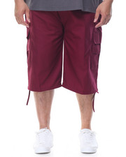 Men - Twill Belted Cargo Shorts (B&T)