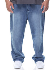 Jeans & Pants - 5 - Pocket Stone Washed Denim Jeans (B&T)