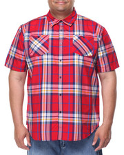 Akademiks - Frank S/S Button-Down (B&T)