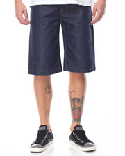 Men - 5 - Pocket Raw Denim Shorts