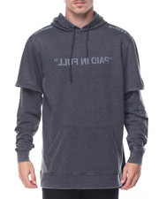 Hoodies - Paid In Full Layer Pullover Hoodie