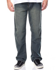 Basic Essentials - 5 - Pocket Stone Washed Denim Jeans