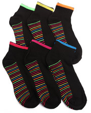 Women - Athletic 6Pk Quarter Socks