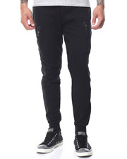 Basic Essentials - Multi - Pocket Tech Fleece Joggers