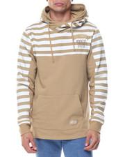 Men - L/S Stripe Hoodie
