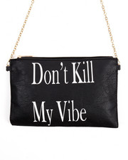 Crossbody - Don't Kill My Vibe Chain Crossbody Bag