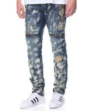 Men - Jewel - Trim Washed Denim Jeans