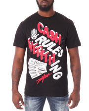 Shirts - Cash Rules Everything Tee