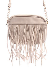 Women - Chain Fringe Crossbody Bag