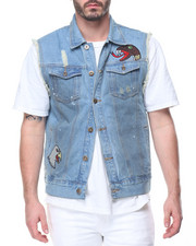 Men - Denim Vest