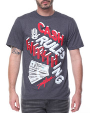 Men - Cash Rules Everything Tee