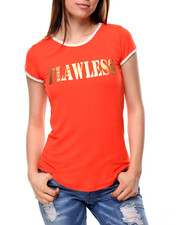 Fashion Lab - Flawless Ringer Tee