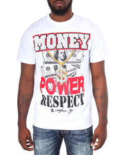 Men - Money Power Respect Tee