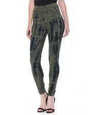 Women - Tie Dye Wash Stretch Skinny Jean