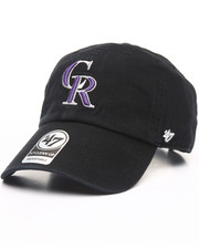 Accessories - Colorado Rockies Clean Up 47 Strapback Cap
