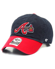 Accessories - Atlanta Braves Alternate Clean Up 47 Strapback Cap
