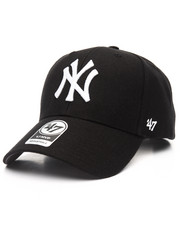 Men - New York Yankees Black & White MVP 47 Strapback Cap