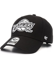 Women - Cleveland Cavaliers Black & White MVP 47 Strapback Cap