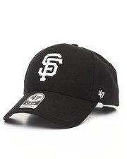 Men - San Francisco Giants Black & White MVP 47 Strapback Cap