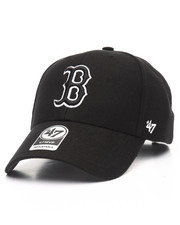 Accessories - Boston Red Sox Black & White MVP 47 Strapback Cap