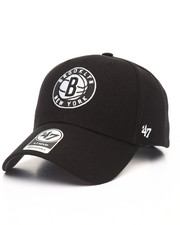 Men - Brooklyn Nets Black & White MVP 47 Strapback Cap