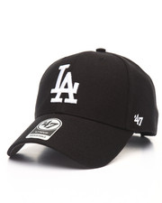Accessories - Los Angeles Dodgers Black & White MVP 47 Strapback Cap
