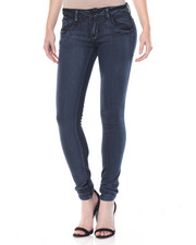 Women - Acid Wash Stretch Skinny Jean