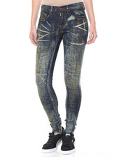 Women - Graffitti Wash Stretch Skinny Jean