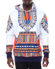 Buyers Picks - Oakbay Dashiki French Terry Pullover Hoodie