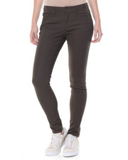 Fashion Lab - Cuffed Stretch Twill Skinny Jean