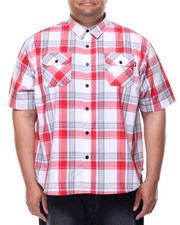 Big & Tall - Northern Lights S/S Button-Down (B&T)