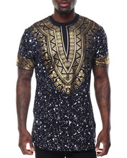 T-Shirts - Tribal Gold Foil Tee