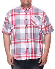 Big & Tall - Eclipse S/S Button-Down (B&T)