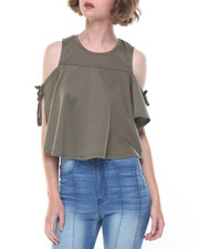 Fashion Lab - Angelie Cold Shoulder Top