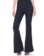 Women - Wideleg Denim Pant