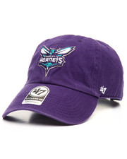 Hats - Charlotte Hornets Clean Up 47 Strapback Cap