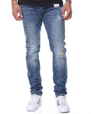 Men - Sk8 Life Skinny Fit Denim Jeans