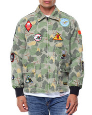 Men - Pacific Tour Patch Jacket
