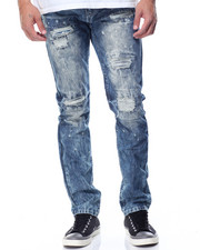 Buyers Picks - Streaky Slim - Straight Rip - And- Repair Denim Jeans