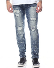 Buyers Picks - Splattered Rip - And - Repair Denim Jeans