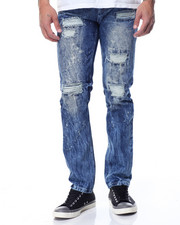 Buyers Picks - Slim - Straight Rip - And- Repair Denim Jeans