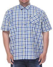 Rocawear - Azul S/S Button-Down (B&T)