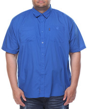 Big & Tall - Passport S/S Button-down (B&T)