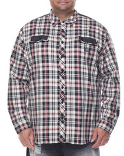 Big & Tall - L/S Plaid Button-Down (B&T)