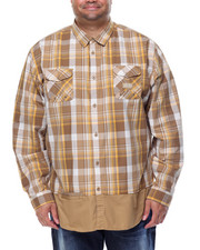 Men - L/S Plaid Button-Down (B&T)