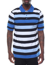 Basic Essentials - Thick - Stripe Jersey S/S Polo