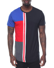 Basic Essentials - Mondrian - Style Color - Block S/S Tee
