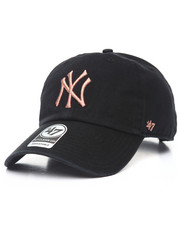 Dad Hats - New York Yankees Metallic Clean Up 47 Strapback Cap